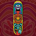 Tiki Skateboard Deck