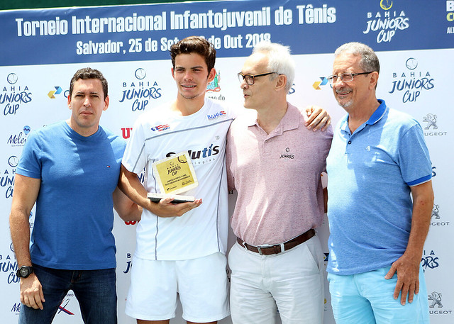 Torneio de Tênis no Bahiano de Tênis,Final. www.esportenarede.com.br