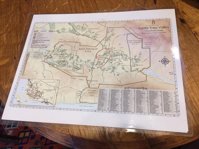 Santa Ynez Valley AVA map