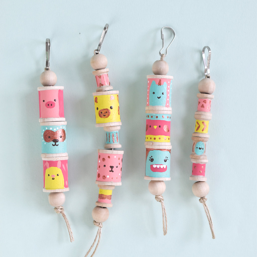 Totem Pole Backpack Clips