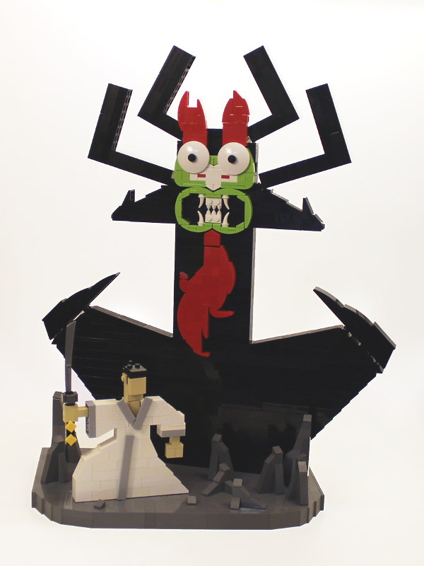 Samurai Jack and Aku