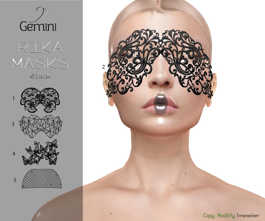 •Gemini -Rika Masks-@Vanity Event• Oct Round