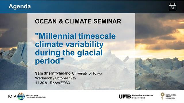 OCEAN&CLIMATE Seminar