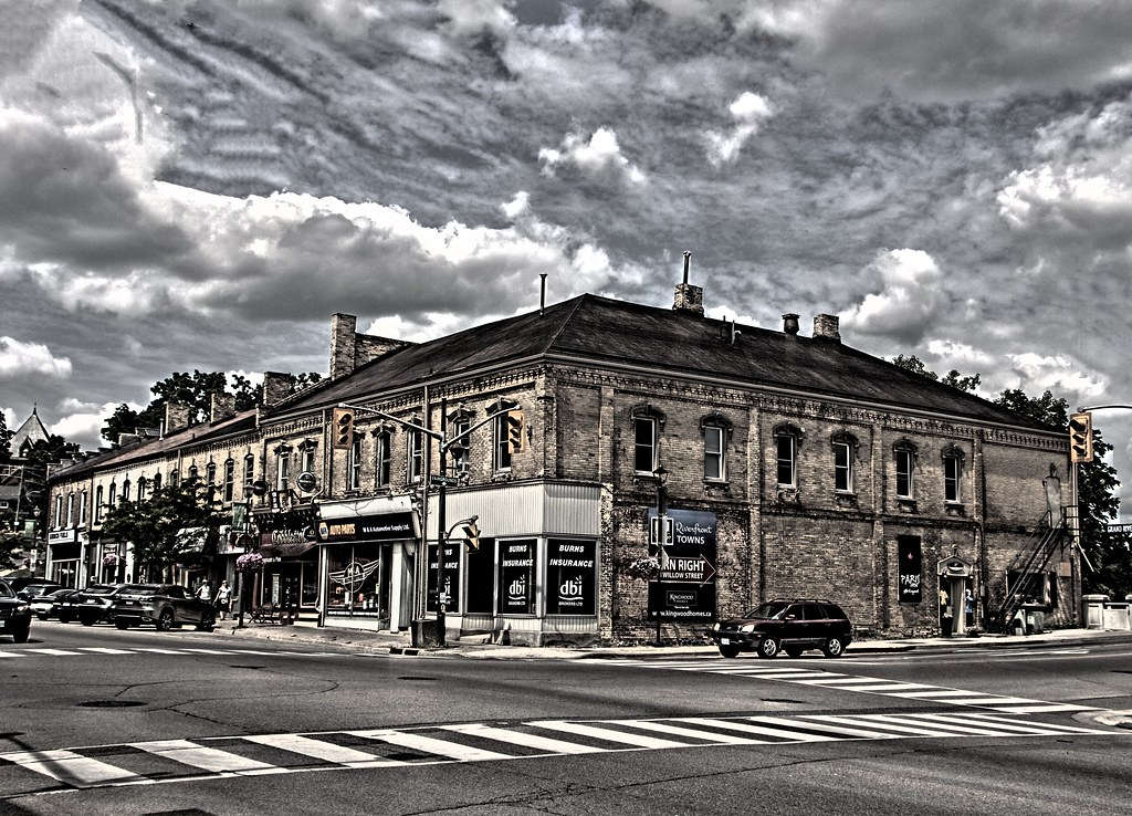 Paris Ontario - Canada - Four Corners - Downtown - Heritage Town