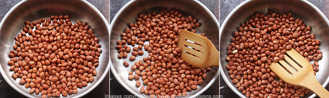 How to make peanut sesame ladoo recipe - Step1