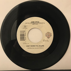 JANE CHILD:DON'T WANNA FALL IN LOVE(RECORD SIDE-A)