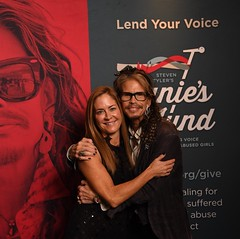 Steven Tyler with Tara West ywoe 18