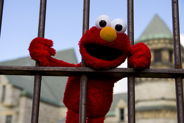 Come on, man -  Elmo didn't do it!