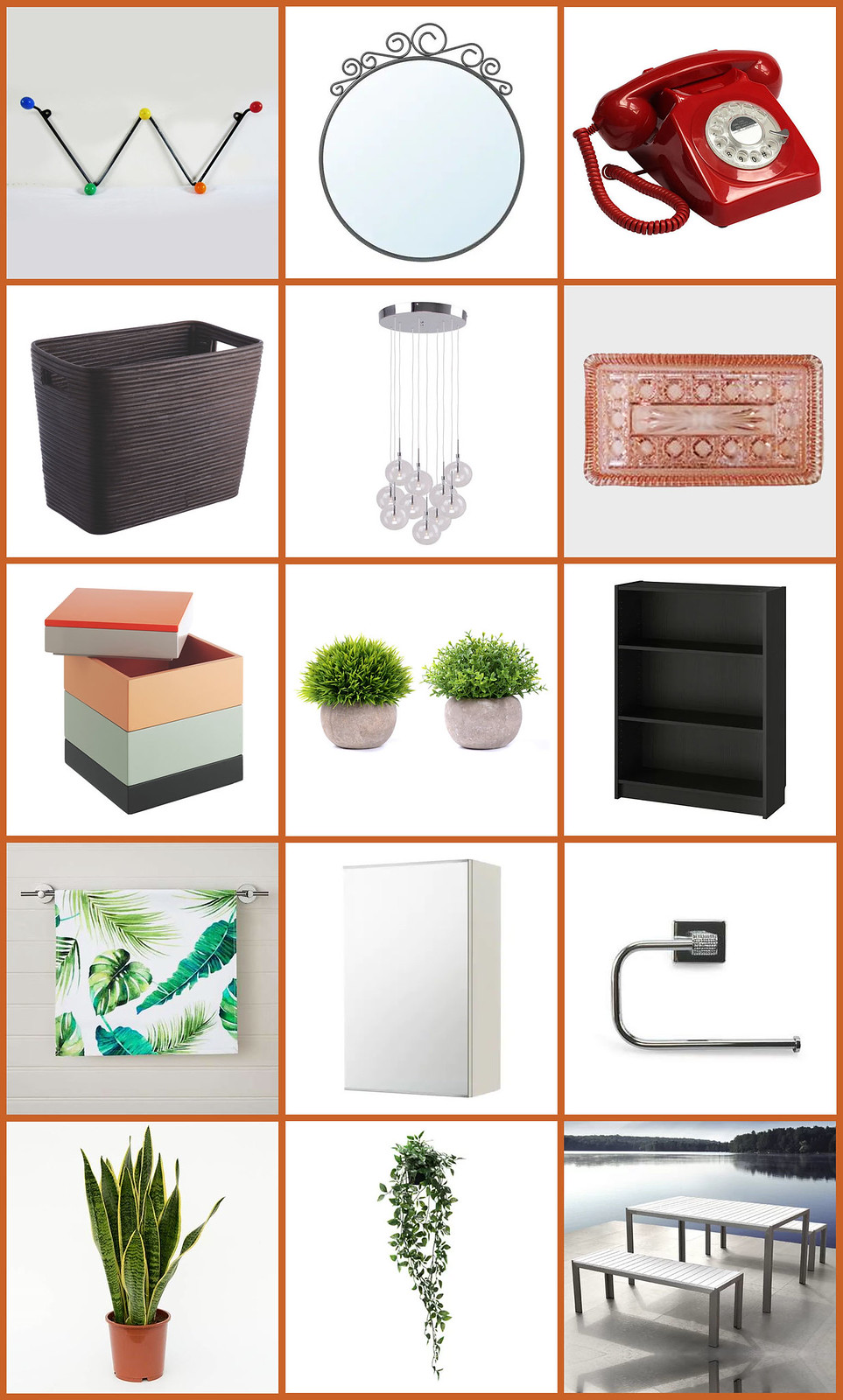 All the Mid-Century Modern Homewares We've Bought For Our New House: Hallway, Bathroom, Garden | Not Dressed As Lamb