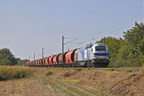 Euro 4011 Train Richwiller-Hausbergen à Raedersheim