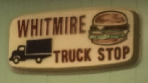 Whitmire Truck Stop sign
