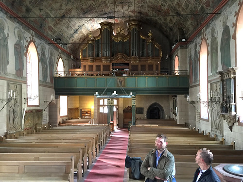 22 - Kronberg - St.-Johann-Kirche - Innenraum & Orgel