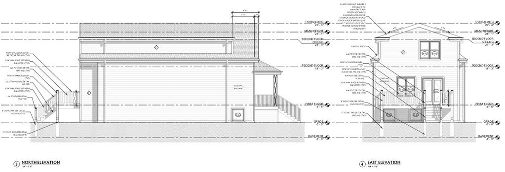 4581 N McVicker Arch Drawings - Elevations 2
