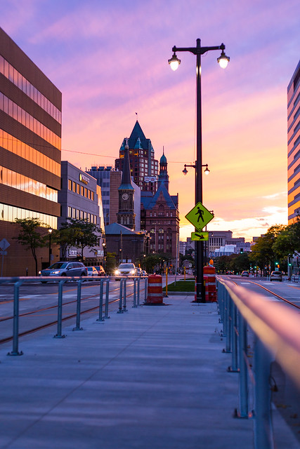 Colorful Kilbourn Sunset vertical
