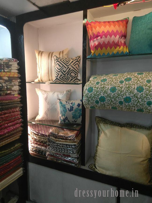 Prachi floral cushions