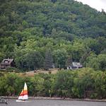 Sailing on Lake Pepin