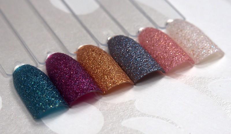 Essie Concrete Glitters
