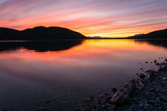 Whitefish Lake Afterglow