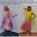 Holly Willoughby & I Wearing Pink Pleated Midi Skirts.