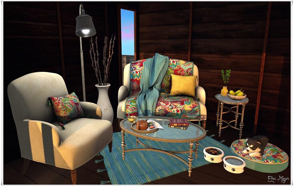 Calliope Livingroom Set