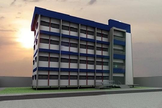 R$ 5,7 milhões: Ufopa abre licitação para construção do campus de Alenquer, Prédio Campus Alenquer
