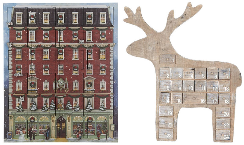 Wooden Advent Calendars 2018