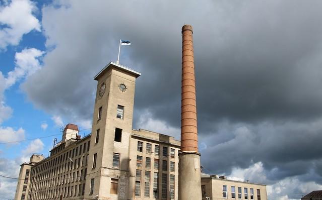 Tootsi turbabriketitehas / Tootsi peat briquette factory, Estonia