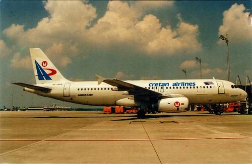 Greece - A-320 - CRETAN [SX-BAS] - front