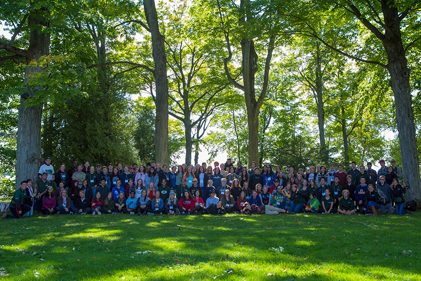 Ontario Nature Youth Summit for Biodiversity and Environmental Leadership 2018