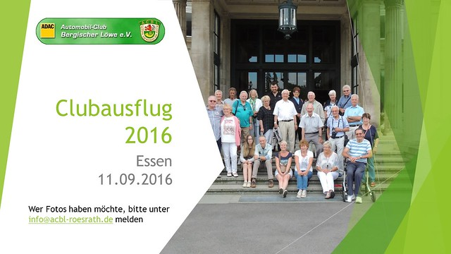 2016 Clubausflug Essen