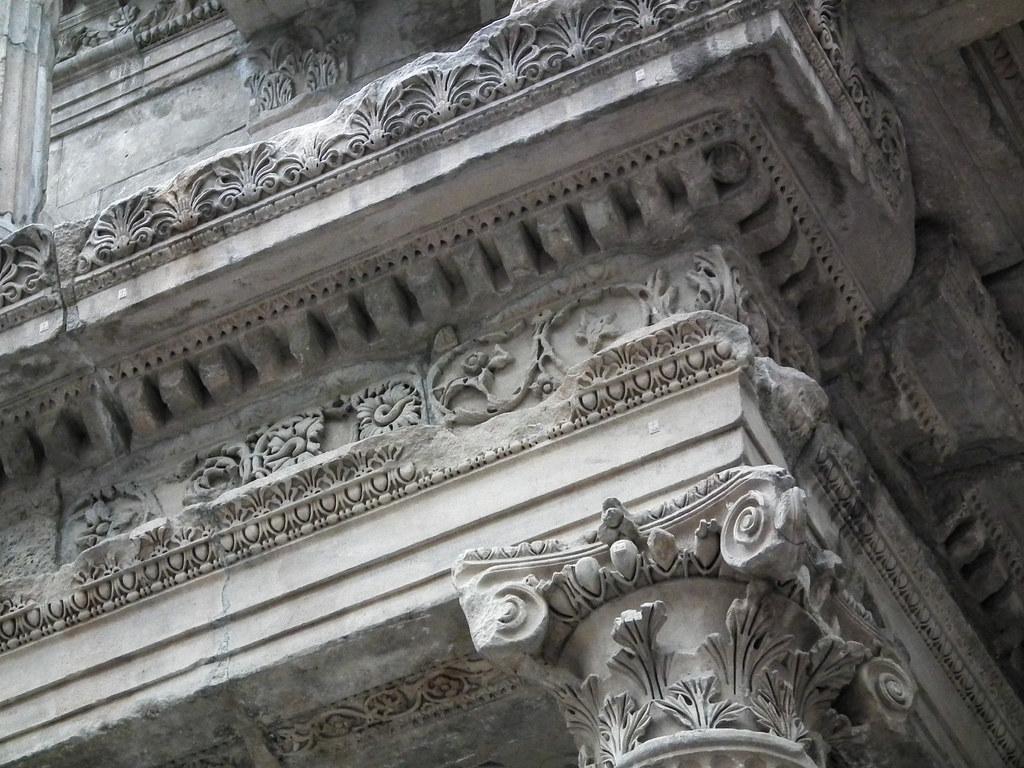 Corinthian relief work
