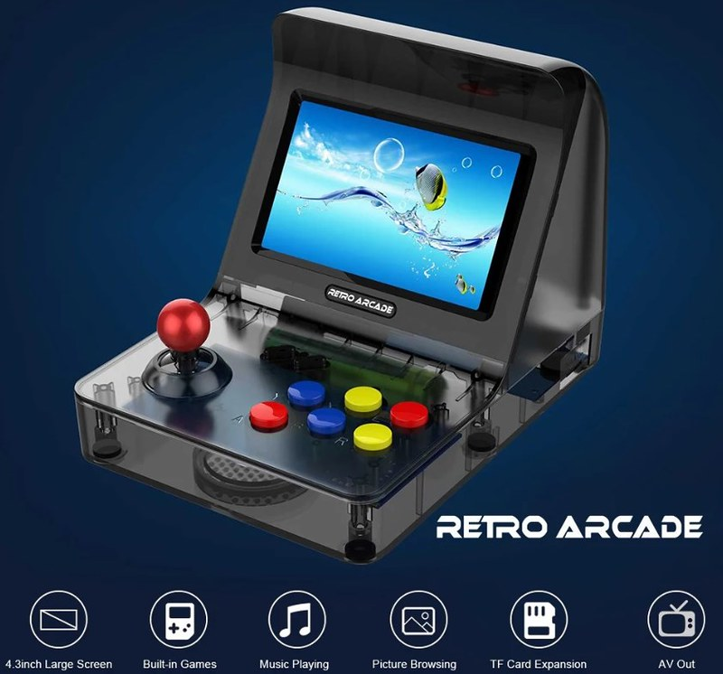 A8 Retro Arcade Game (7)