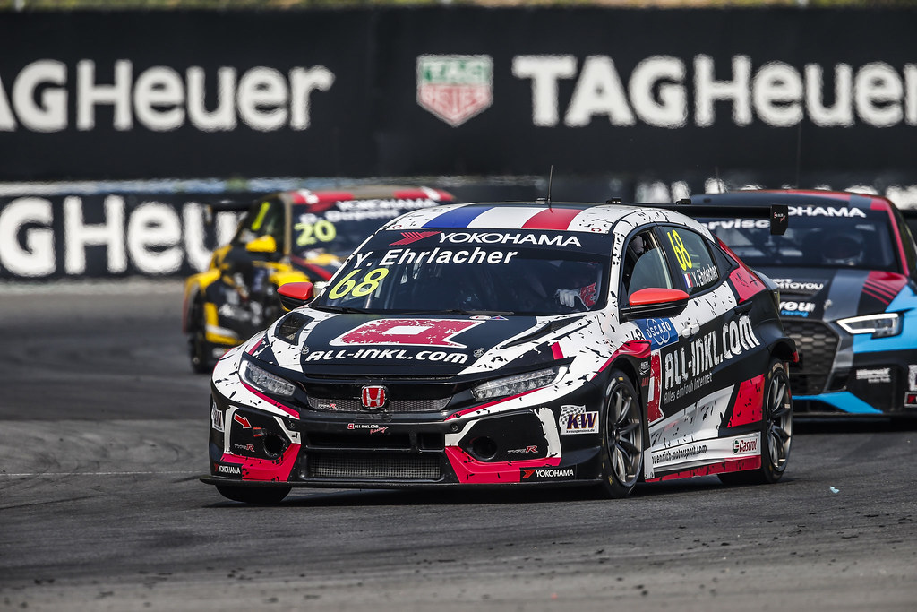 68 EHRLACHER Yann, (fra), Honda Civic TCR team ALL-INKL.COM Munnich Motorsport, action during the 2018 FIA WTCR World Touring Car cup of China, at Ningbo  from September 28 to 30 - Photo Jean Michel Le Meur / DPPI