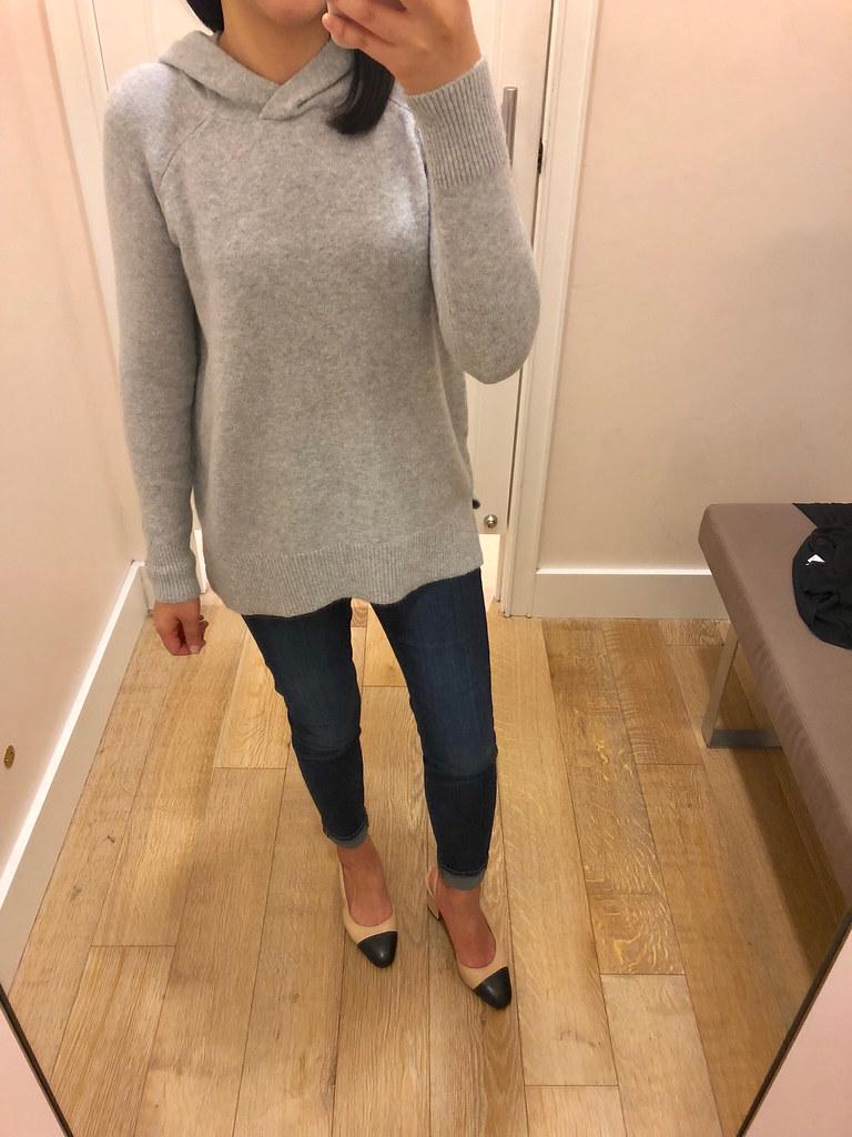 LOFT Hooded Sweater, size XSP