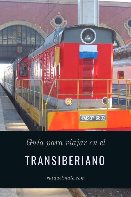 Guia para viajar en el Transiberiano