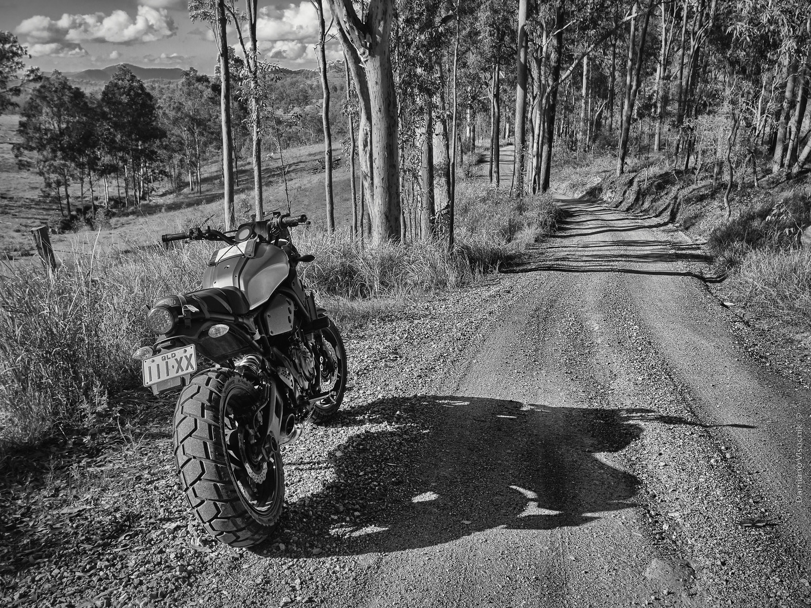 Backroads exploring_bw