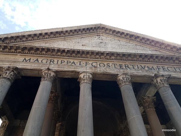 Pantheon writing
