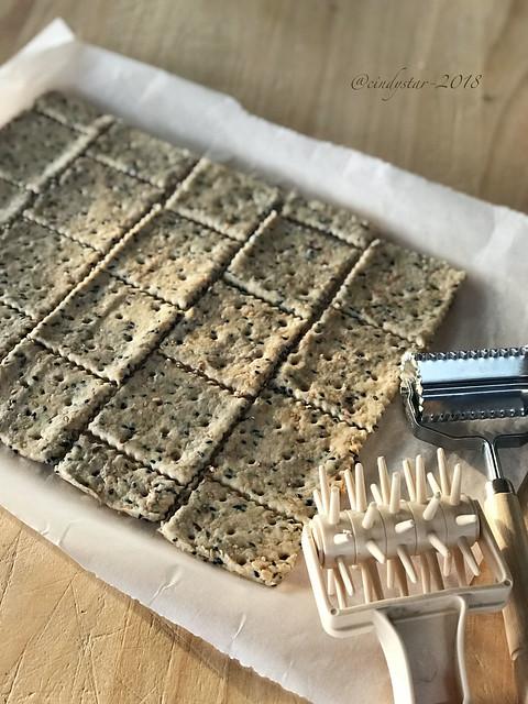 facendo crackers ai semi