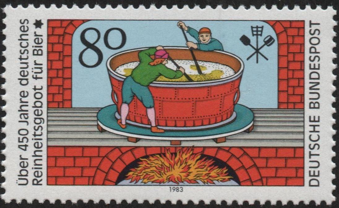 Germany - Scott #1396 (1983)