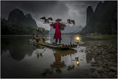 Cormoran fisherman