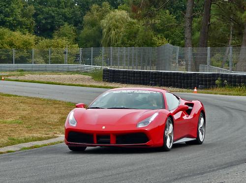 Stage Pilotage Ferrari 488 et Alpine A110