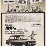 Mon, 2018-10-22 04:42 - Hillman IMP 1966