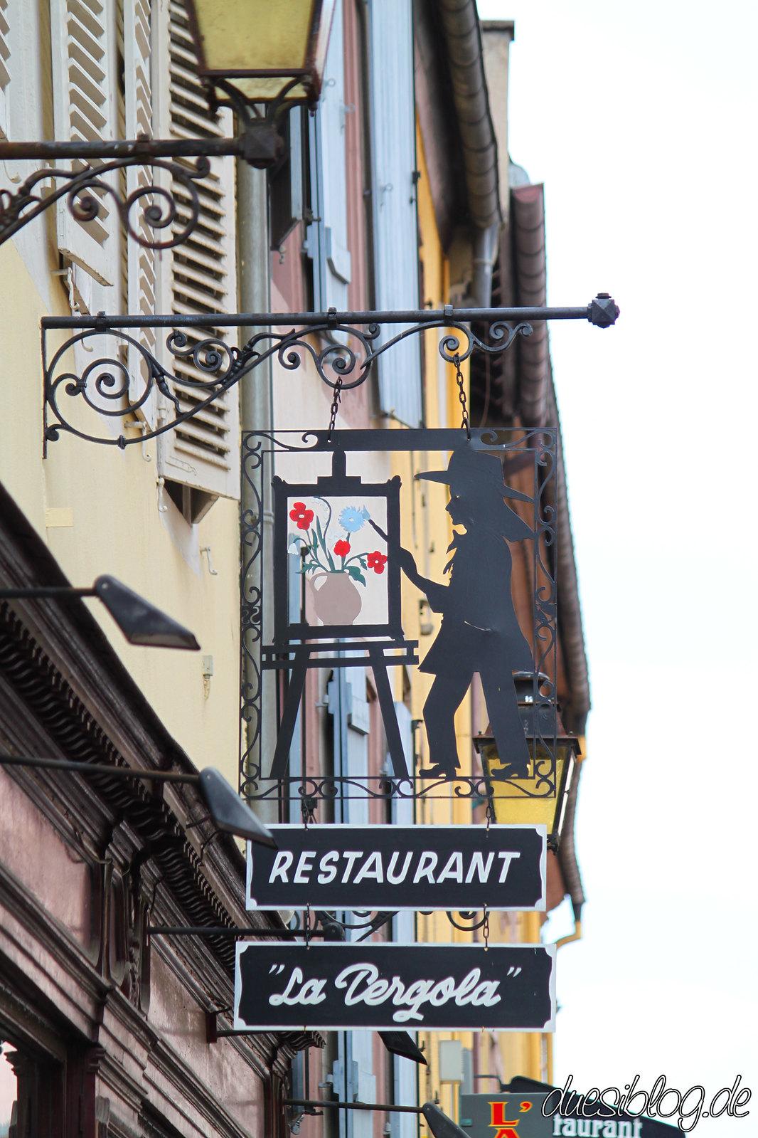 Colmar - Ladenschilder