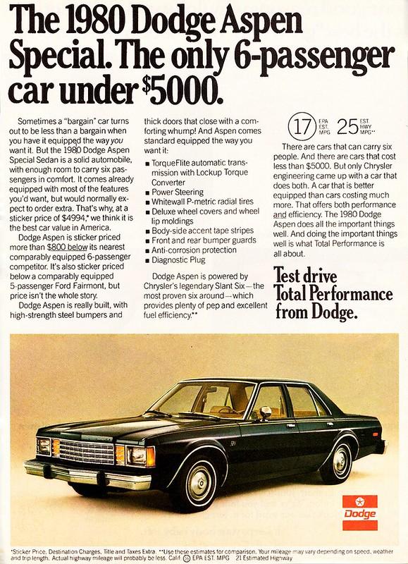 1980 Dodge Aspen