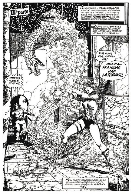 Conan de Roy Thomas y Barry Windsor Smith 07 -03- La Canción de Red Sonja 07