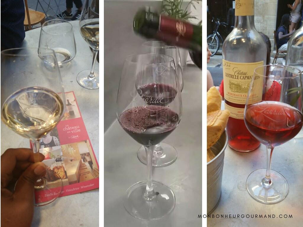 un chateau en vile - 3 vins