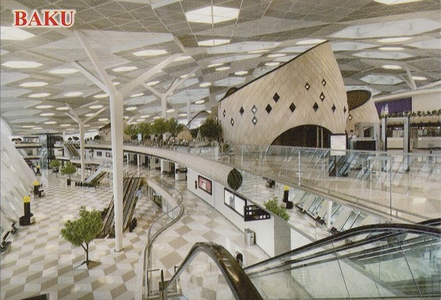 Heydar Aliyev International Airport at Baku, Azerbaijan