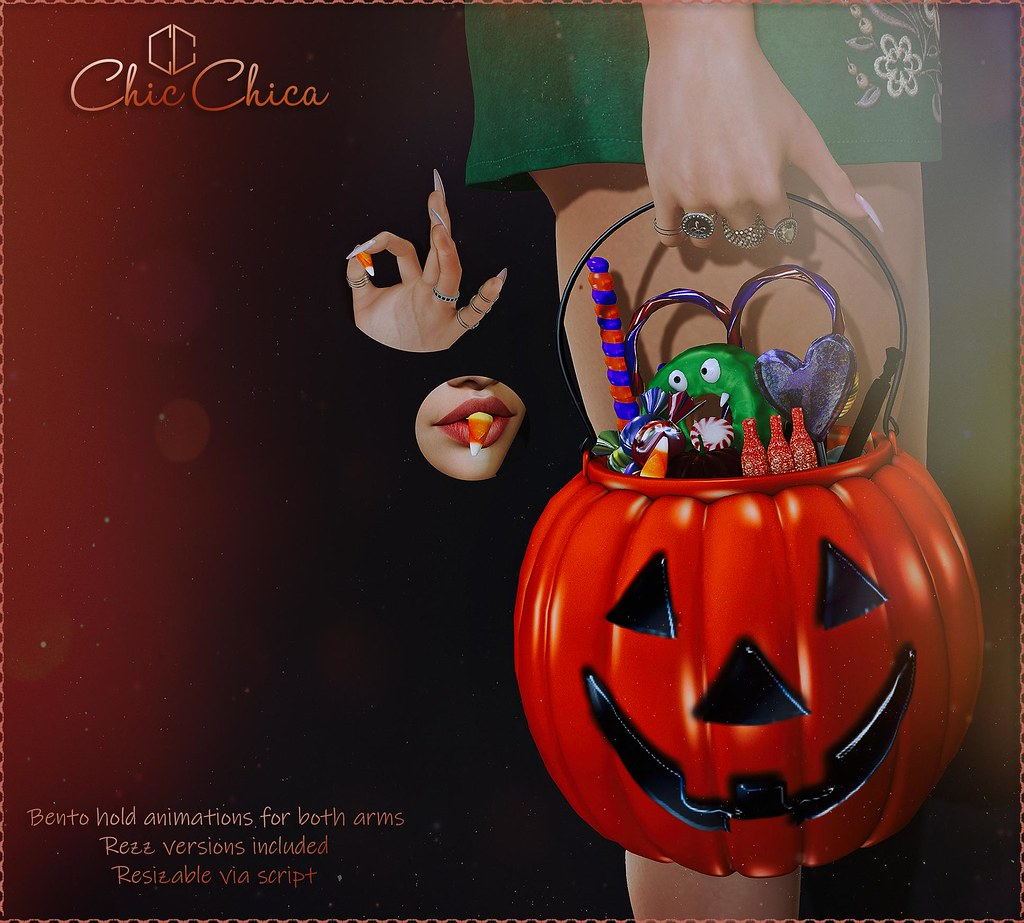 Pumpkin bucket by ChicChica @ Blush - TeleportHub.com Live!