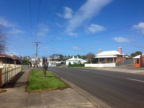 Typical street in Warrnambool