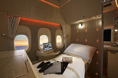 Emirates First Class virtual reality (Emirates)